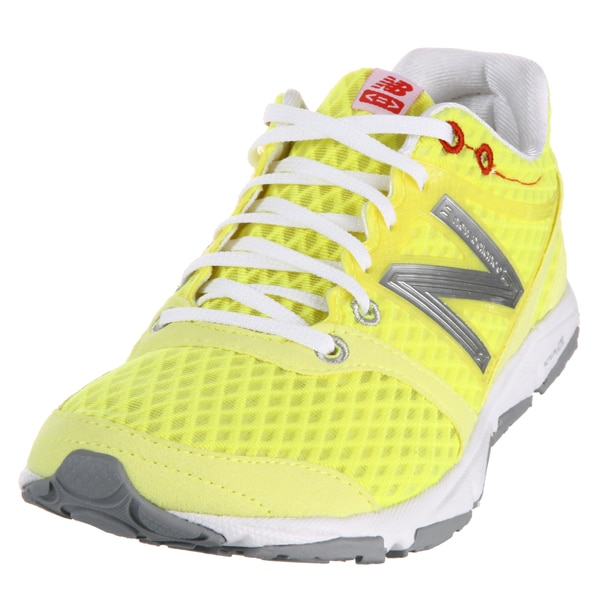 New Balance Women's 730 Yellow/ White Athletic Shoes