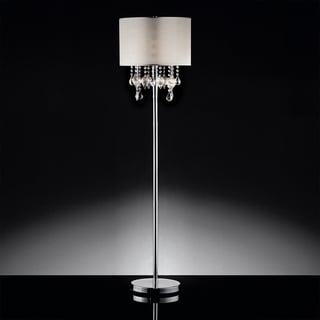 Audrina Drape Crystal Floor Lamp by INSPIRE Q