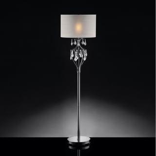 TRIBECCA HOME Elena Refined Crystal Floor Lamp