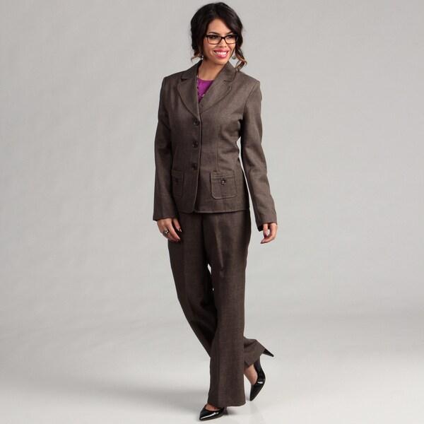 Danillo Women's 3-button Jacket Pant Suit