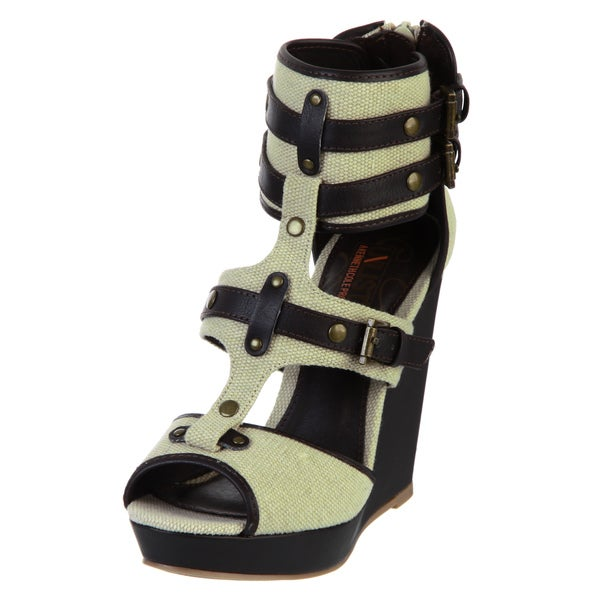 Unlisted by Kenneth Cole Women's 'First Strike' Wedge Sandals