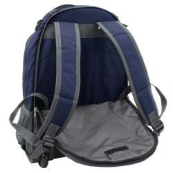 Wenger Swiss Gear Blue 18-inch Rolling Carry-On Backpack - Thumbnail 1