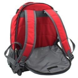 Wenger Swiss Gear Red 18-inch Rolling Carry-On Backpack - Thumbnail 1
