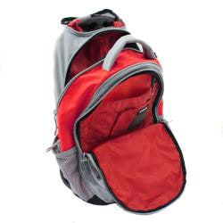Wenger Swiss Gear Red 18-inch Rolling Carry-On Backpack - Thumbnail 2