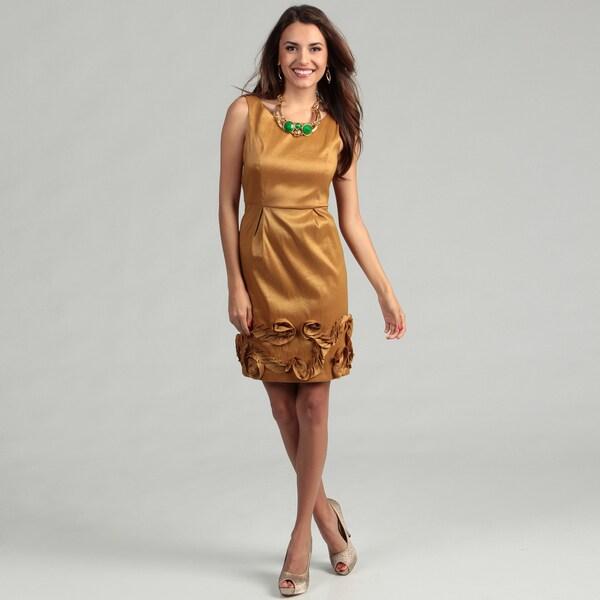 Max & Cleo Women's Sleeveless Pleated Skirt Dress