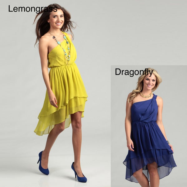 Cleo S Clothing: Max & Cleo Women's Phoebe One-shoulder Dress
