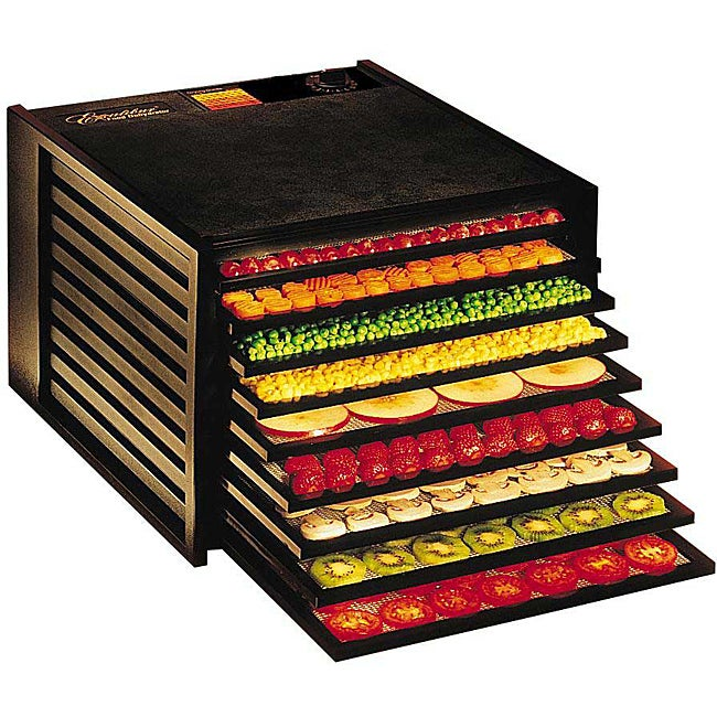 Excalibur 3900 Deluxe Series 9-tray 400-600 Watt Food Dehydrator - Thumbnail 0