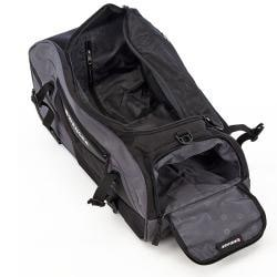Wenger Swiss Gear Black 24-inch Polyester Rolling Sport Duffle Bag - Thumbnail 2
