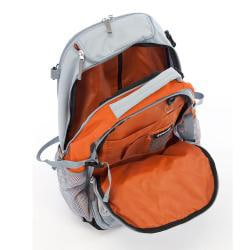 Wenger Swiss Gear Orange 20-inch Rolling Carry-On Backpack