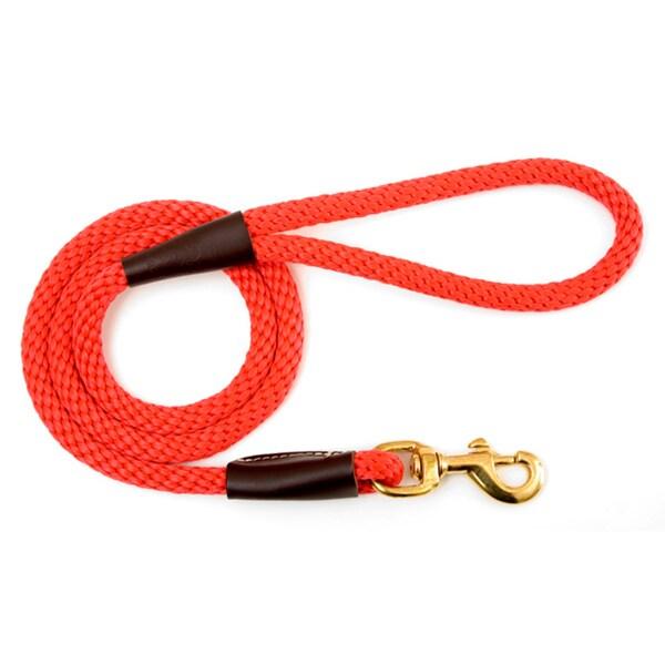 Mendota Red 6-foot Snap Leash