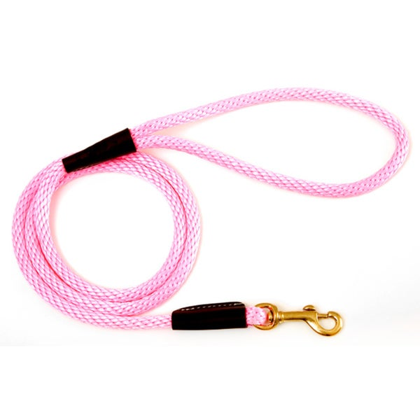 Mendota Hot Pink 4-foot Snap Leash