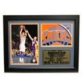 New York Knicks Jeremy Lin Photo Stat Frame 2