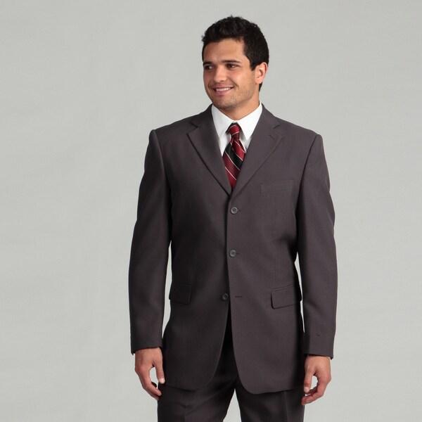 Victorio Couture Men's 3-button Grey Suit