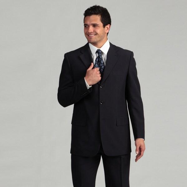 Victorio Couture Men's 3-button Navy Suit