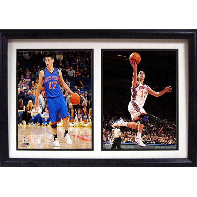 New York Knicks Jeremy Lin Double Photo Frame
