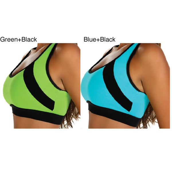 Ocean Collection Women's Soft Cup Sports Bra
