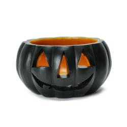 Halloween Pumpkin Candle Luminary - Thumbnail 1