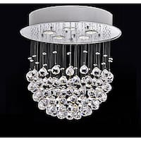 Crystal Bowl 5-light Chandelier