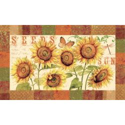 Sunshine Seeds Three-piece Kitchen Rug Set - Thumbnail 1