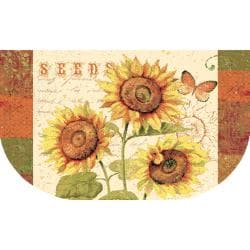 Sunshine Seeds Three-piece Kitchen Rug Set - Thumbnail 2
