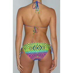 Island World Junior's Bright Tribal 2-peice Bikini - Thumbnail 1