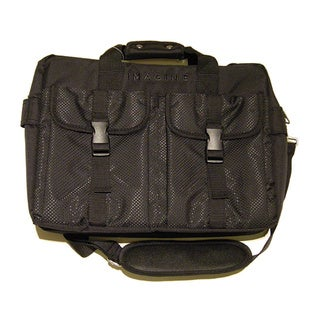 Link to Imagine Eco-Friendly Black Laptop Briefcase Similar Items in Briefcases