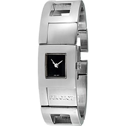 Peugeot Women's Silvertone Cuff Watch