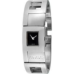 Peugeot Women's Silvertone Cuff Watch|https://ak1.ostkcdn.com/images/products/6649009/Peugeot-Womens-Silvertone-Cuff-Watch-P14210987.jpg?impolicy=medium