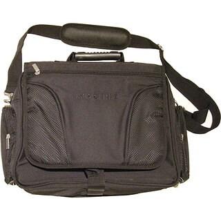 Imagine Eco-Friendly Black Laptop Messenger Bag