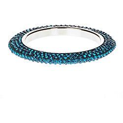 Calvina Teal Bangle (India)