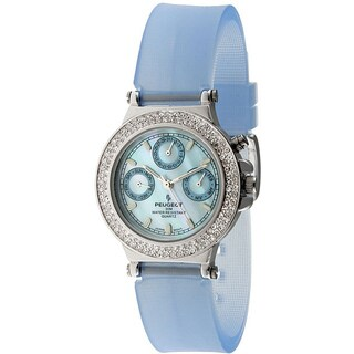 Peugeot Women's Silvertone Multi-function Watch