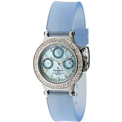 Peugeot Women's Silvertone Multi-function Watch