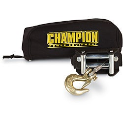 Champion Weather-Resistant Neoprene Storage Cover for Winches 2000-3500 lb