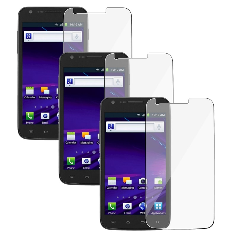 INSTEN Clear Screen Protector for Samsung Galaxy S II Skyrocket i727 (Pack of 3)