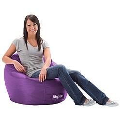 Shop Beansack Super Joe Purple Bean Bag Chair Free