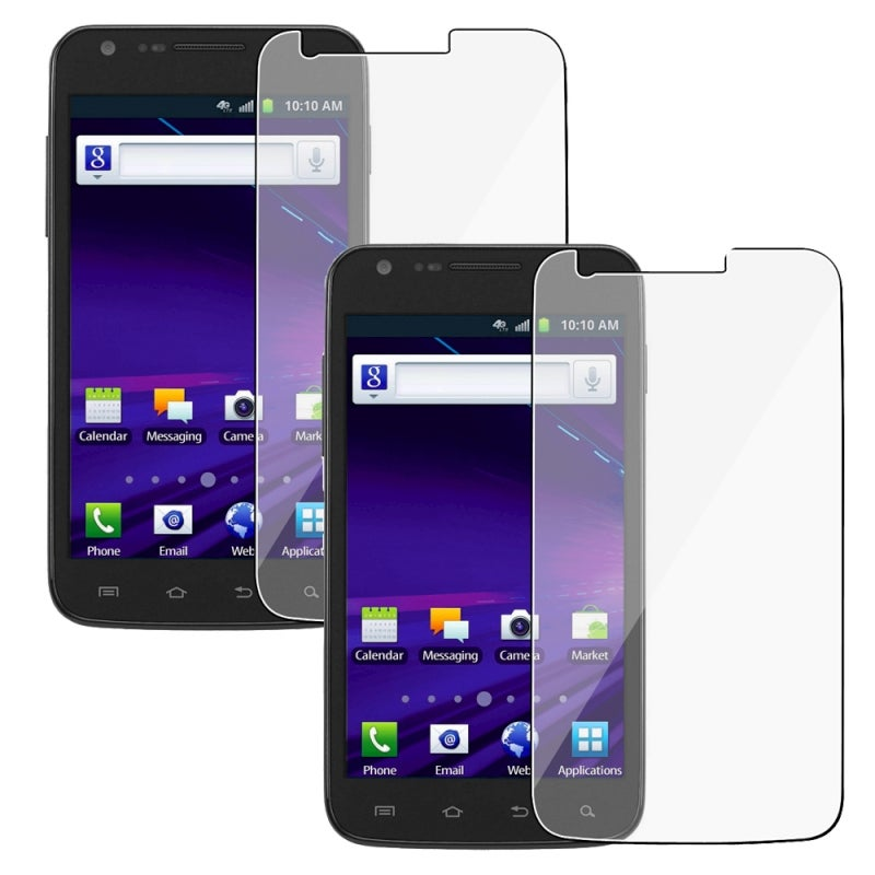 INSTEN Clear Screen Protector for Samsung Galaxy S II Skyrocket i727 (Pack of 2)