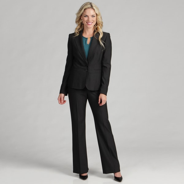 Anne Klein Women's Onyx Multi Pant Suit