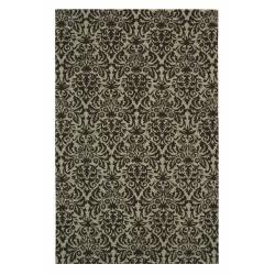Safavieh Hand-hooked Paris Green/ Brown Wool Rug (5'3 x 8'3)