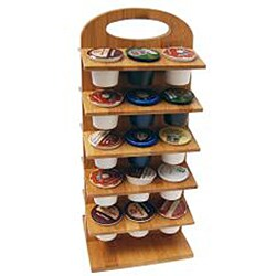 Le Chef Bamboo Coffee Pod Holder - Thumbnail 1