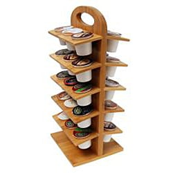 Le Chef Bamboo Coffee Pod Holder - Thumbnail 2