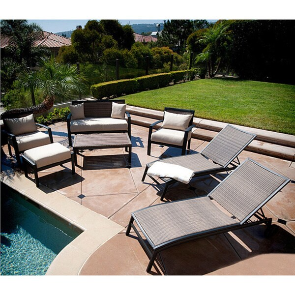 RST Brands Zen 7-piece Seating and Lounger Set