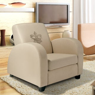 Bonnie Fabric Fleur de Lis Club Chair by Christopher Knight Home