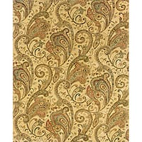 "Evan Beige/ Gold Transitional Area Rug (7'6 x 9'6) - 7'6"" x 9'6"""