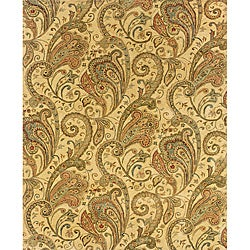 Evan Beige/ Gold Transitional Area Rug - 8'3 x 11'3 - Thumbnail 0