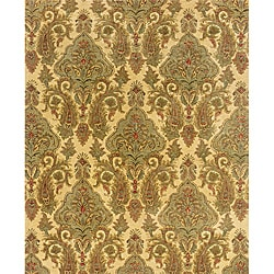Evan Beige/ Green Transitional Area Rug (5' x 8'3)