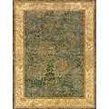 Evan Blue and Beige Transitional Area Rug - 8'3 x 11'3
