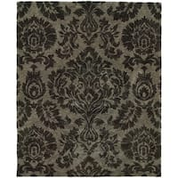 "Evan Grey Transitional Area Rug (5' x 8'3) - 5'3"" x 8'3"""