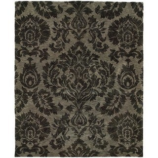 Evan Grey Transitional Area Rug (7'6 x 9'6)