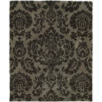"Evan Grey Transitional Area Rug (8'3 x 11'3) - 8'3"" x 11'3"""
