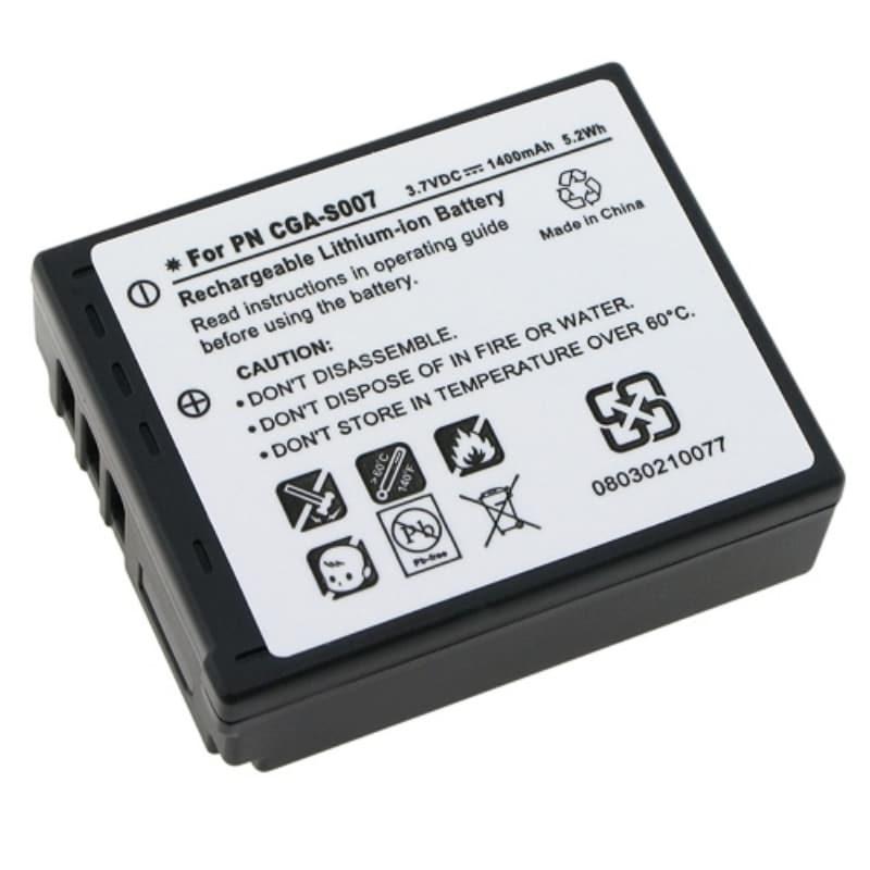 INSTEN Compatible Li-ion Battery for Panasonic CGA-S007/ CGR-S007